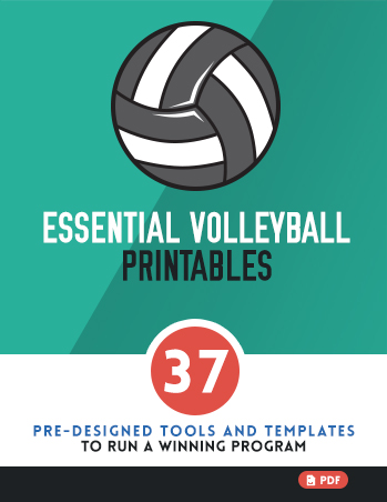 Essential Volleyball Printables  Bestvolleyballdrills